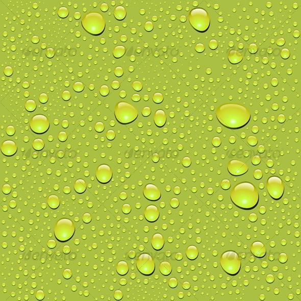 Seamless water drop texture - Backgrounds Decorative