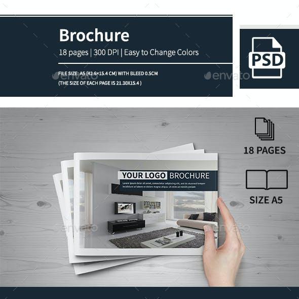 Multipurpose Modern A5 Catalogue Brochure 2016