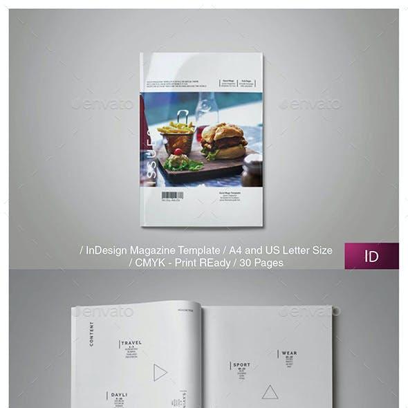 ISSUE8 Multipurpose Magazine Template