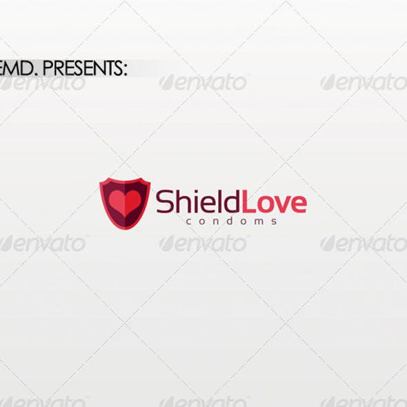Shield Love Logo