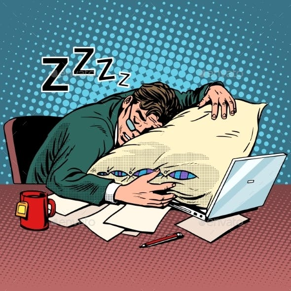Worker Dream Workplace Fatigue Processing