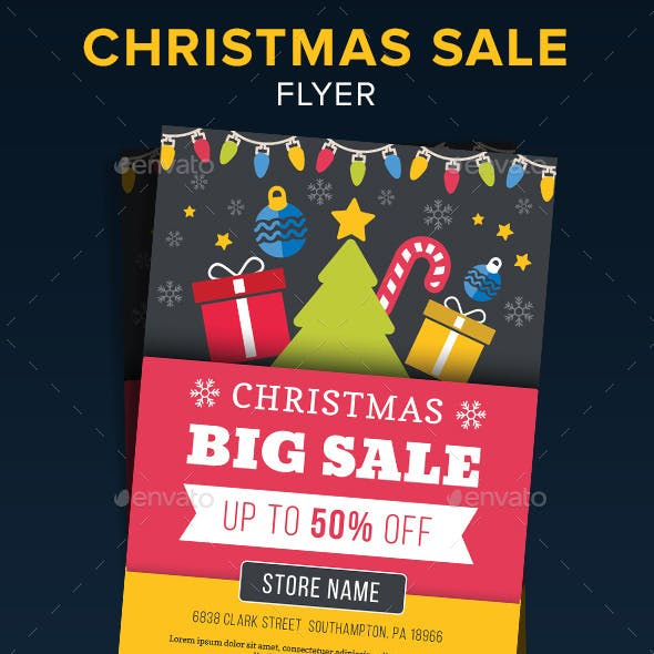 Christmas Sale Flyer