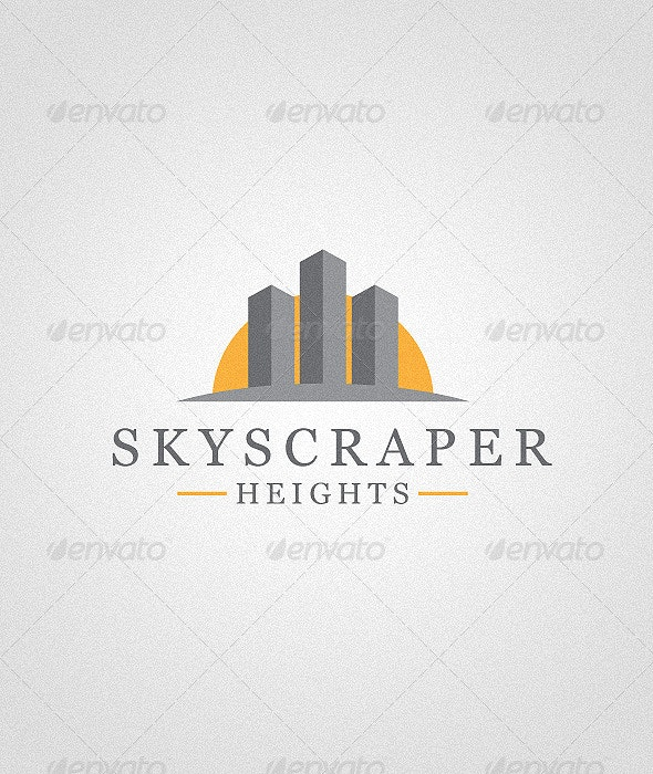 Skyscraper House Logo - Buildings Logo Templates