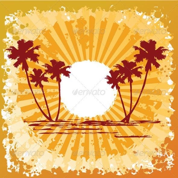 Ocean Beach Sun Abstract