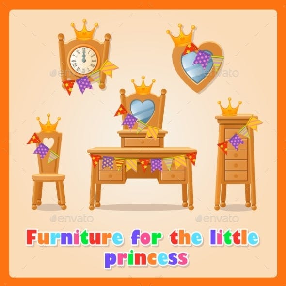 Furniture for a Little Princess and Her Family