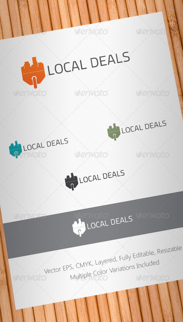 Local Deals Logo Template - Objects Logo Templates
