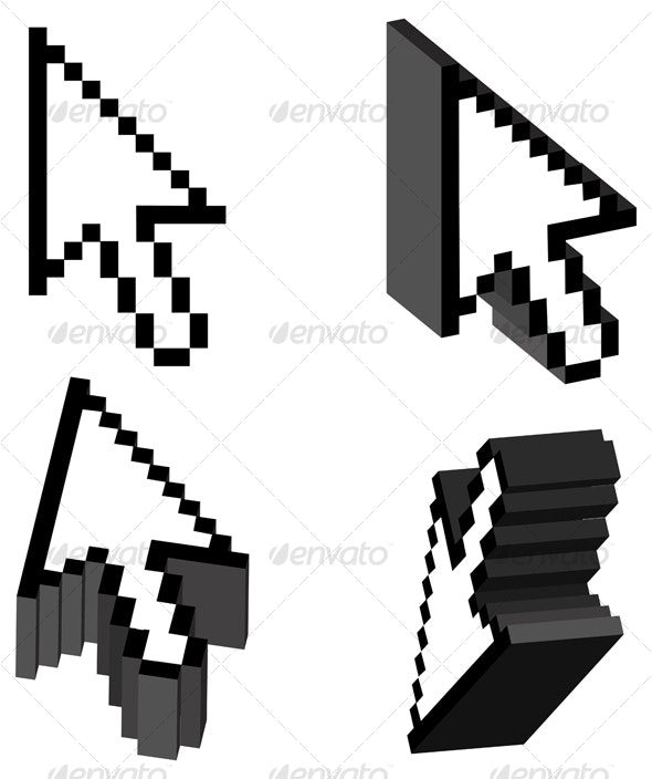 Arrow Cursor 3D - Computers Technology