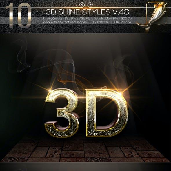 10 3D Text Style V.48DES