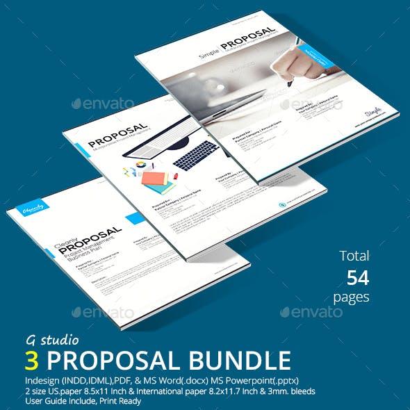 3 Proposal Bundle Template
