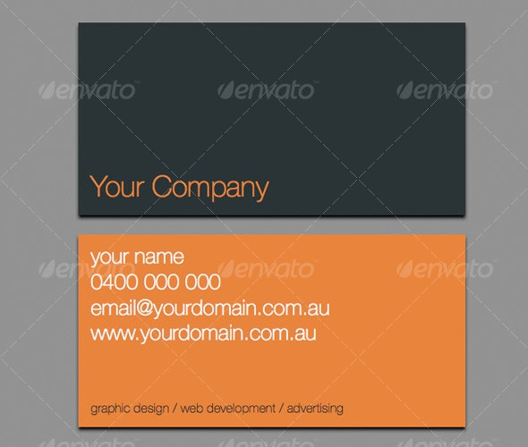 Classy Business Card - Creative Business Cards