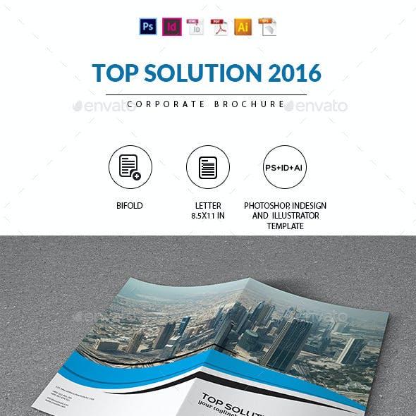 Corporate Brochure   Top Solution 2016