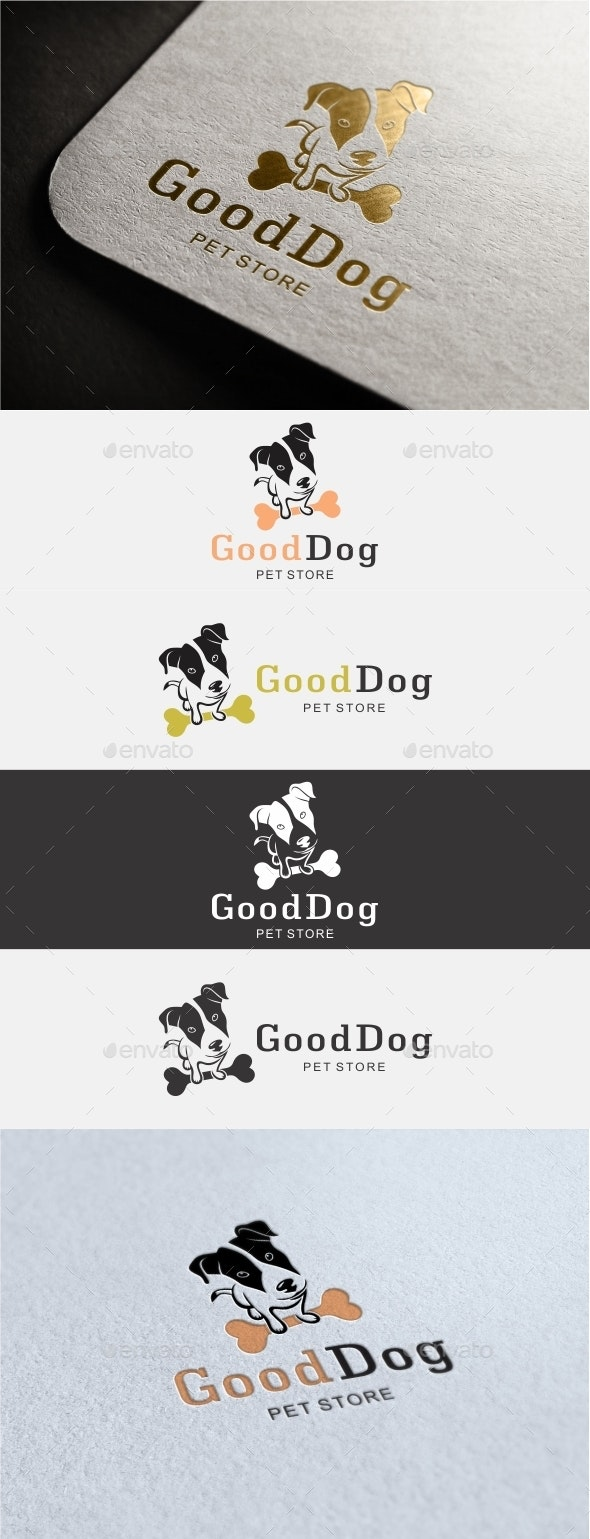 Good Dog Logo - Animals Logo Templates