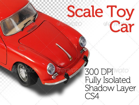 Scale Toy Car - Miscellaneous Isolated Objects
