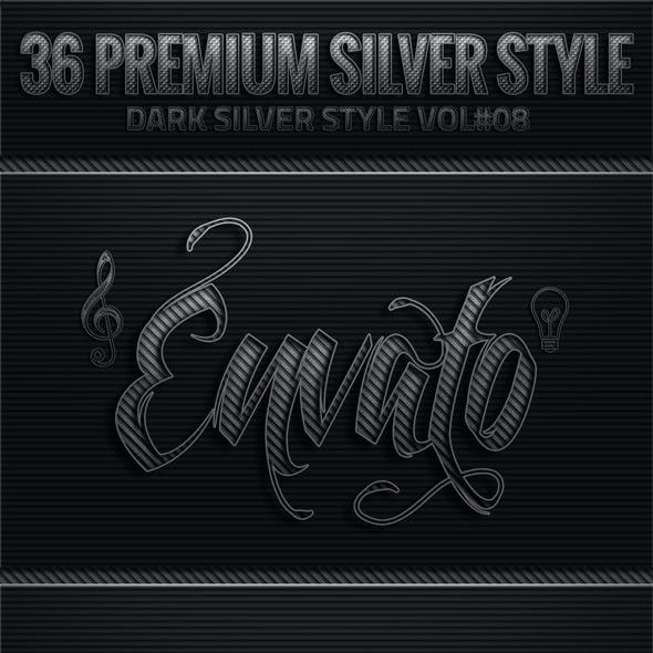 36 Dark Silver Style V08