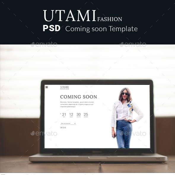 Utami coming soon fashion