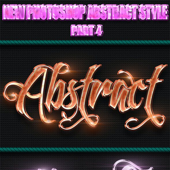 New Photoshop Abstract Styles Part 4