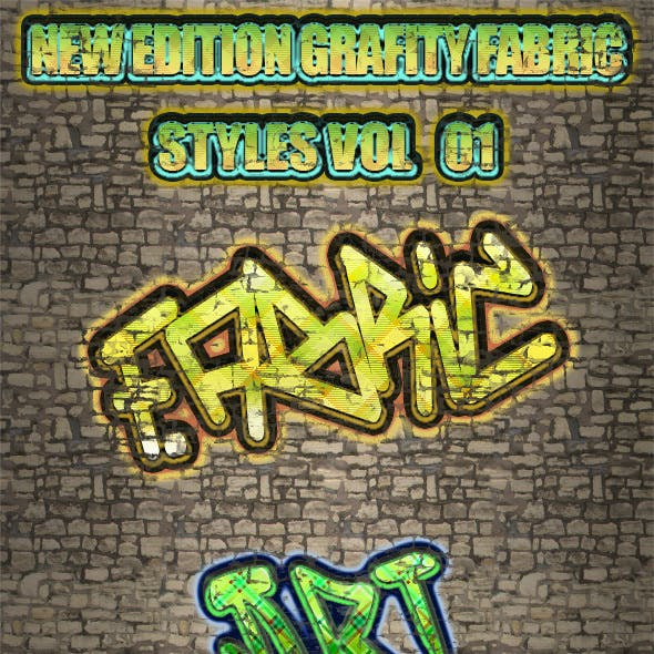New Edition Grafity Fabric Styles Vol 1