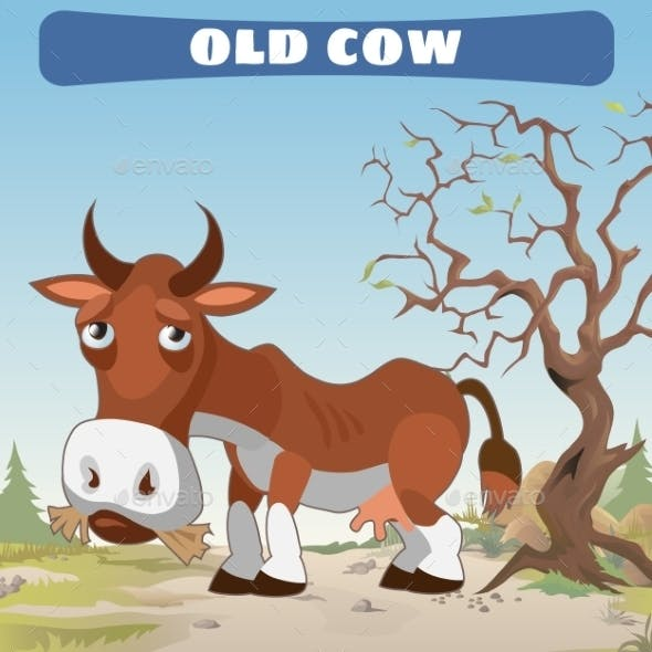 Old Cow In Wasteland, Character From Wild West