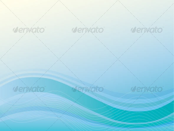 Sea vector background - Backgrounds Decorative