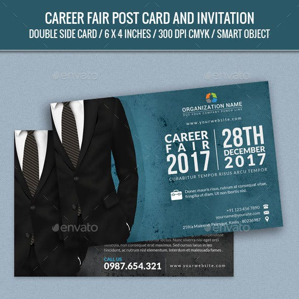 Career Fair Post Card