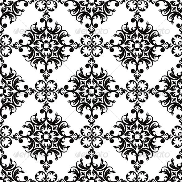 Seamless Classic Wallpaper - Patterns Decorative