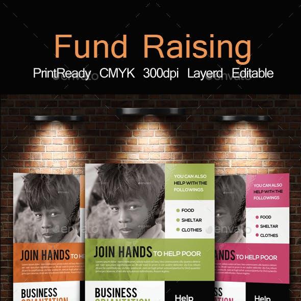 Non Profit Fund Raising Flyer & Ad