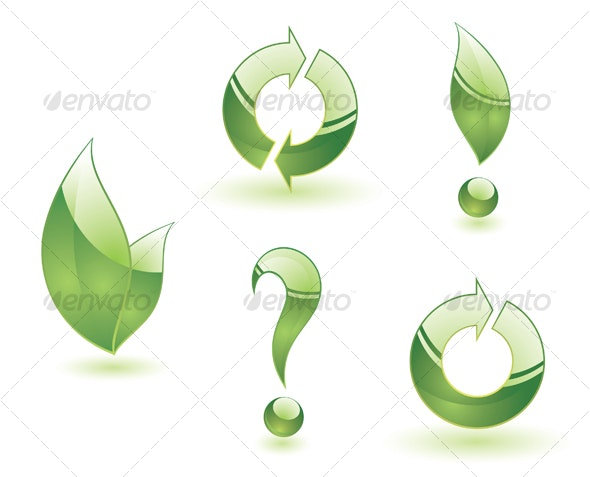 Green symbols - Decorative Symbols Decorative
