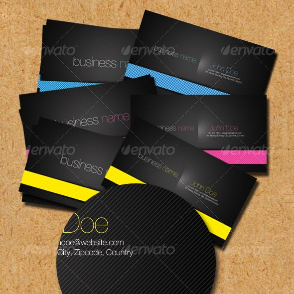 Fun Line Business Cards