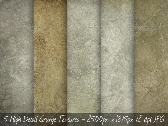 5 Concrete Grunge Textures - Concrete Textures