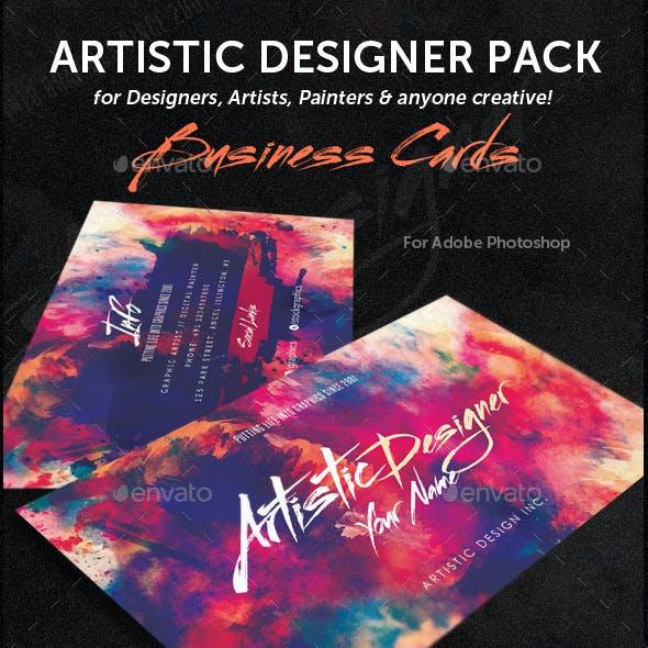Artistic Designer Pack Business Cards & Flyers Bundle