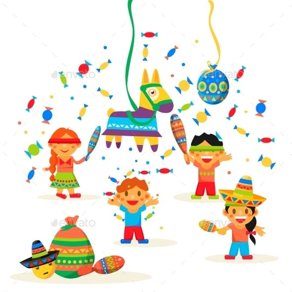 Children Celebrate Posada