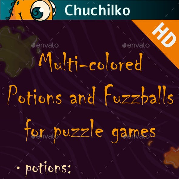 Potions for puzzle games