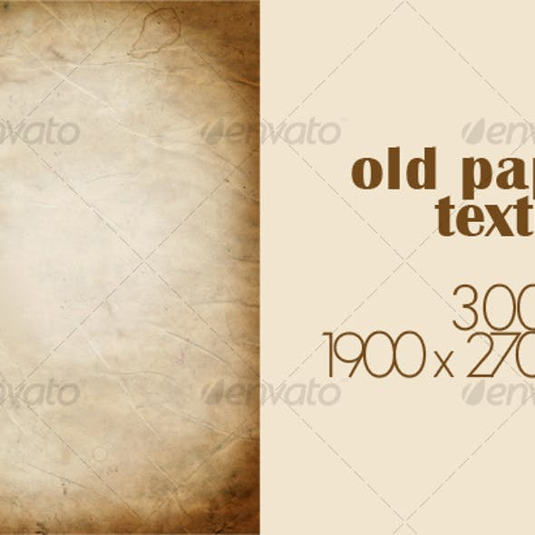 old paper texture #2