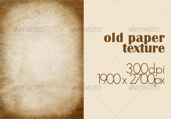 old paper texture #2 - Paper Textures