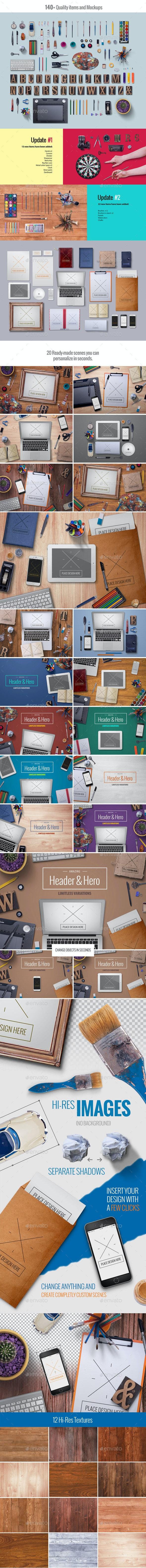 Creative Scene Generator - Product Mock-Ups Graphics