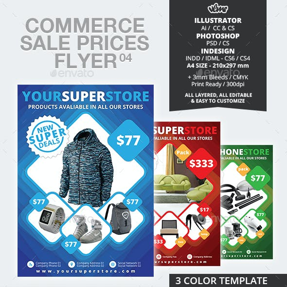 Commerce Sale Prices Flyer 04
