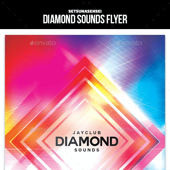 Diamond Sounds Flyer