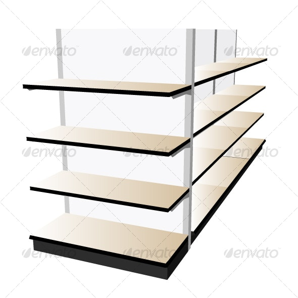 Retail Shelf - Retail Commercial / Shopping