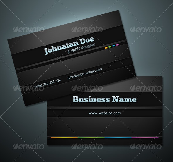 Simple Gray - Corporate Business Cards