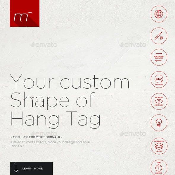 Hang Tags Generator Mock-up