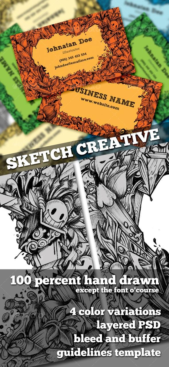 Sketch Creative - Creative Business Cards