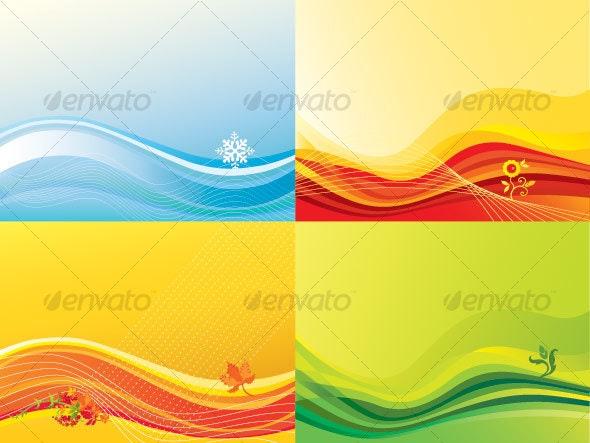 Seasonal backgrounds - Backgrounds Decorative
