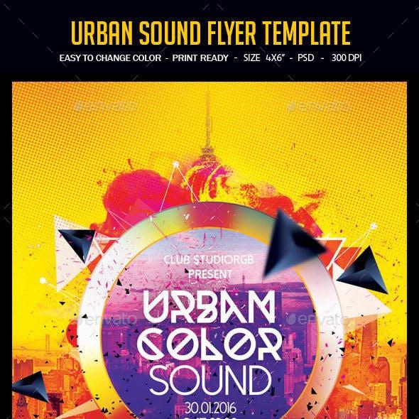 Urban Sound Flyer Template