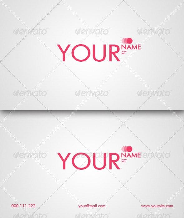 Fashion-Girl Business Card  - Creative Business Cards