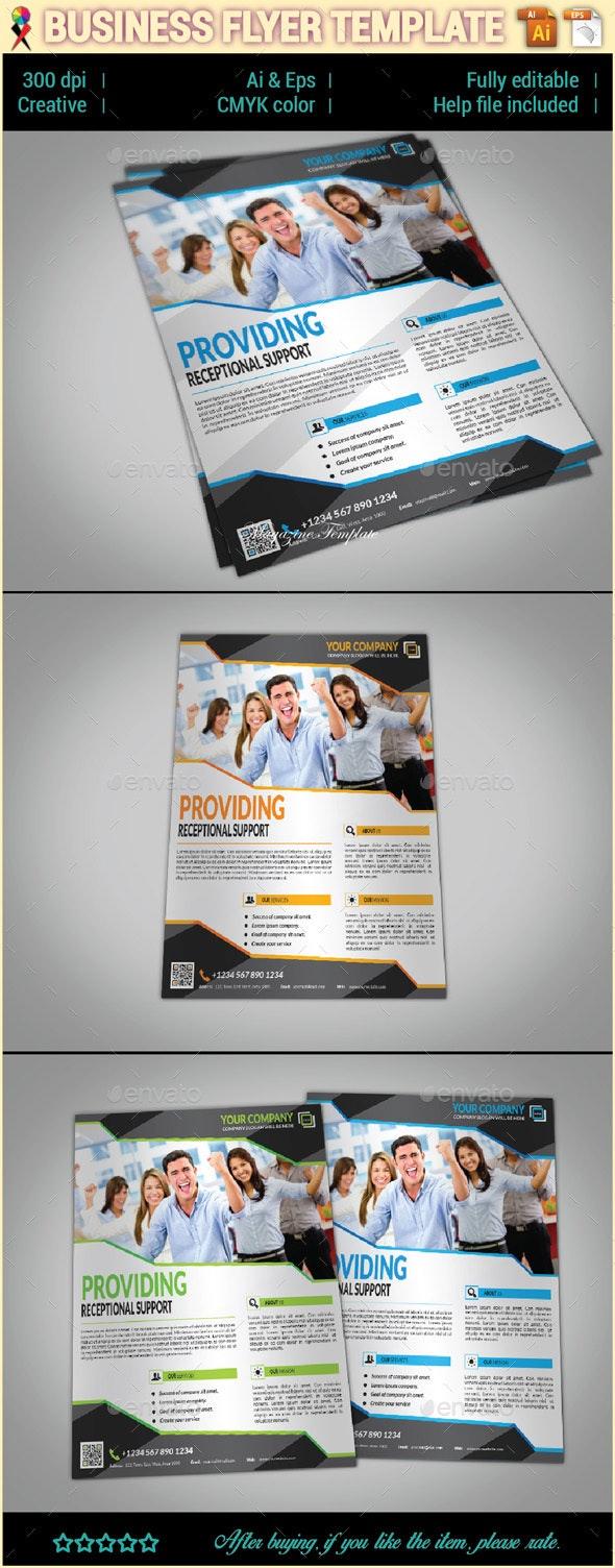 Creative Multipurpose Business Flyer - Corporate Flyers
