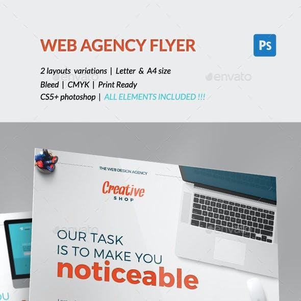 Corporate Flyer - Web Design Agency