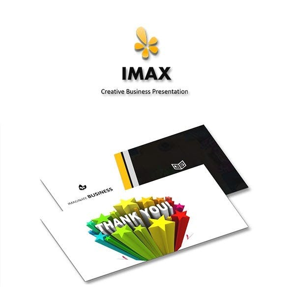 IMAX - Google Slides Business Presentation