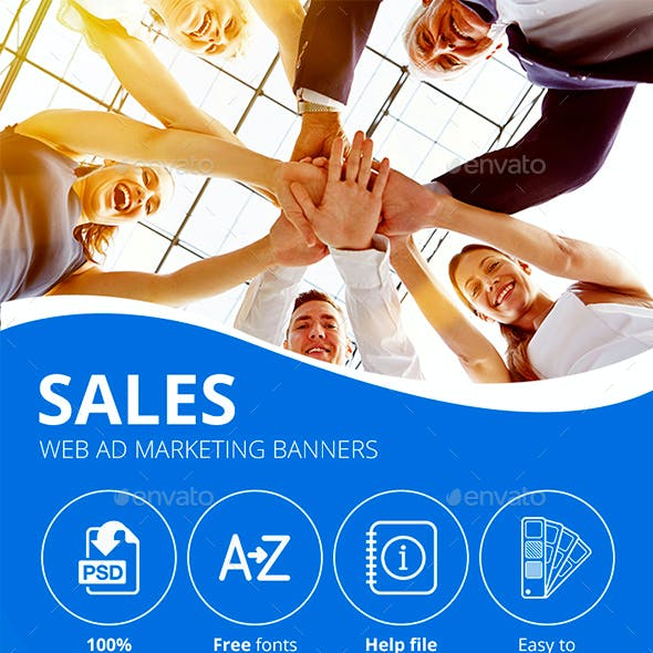 Sales | Web Ad Marketing Banners