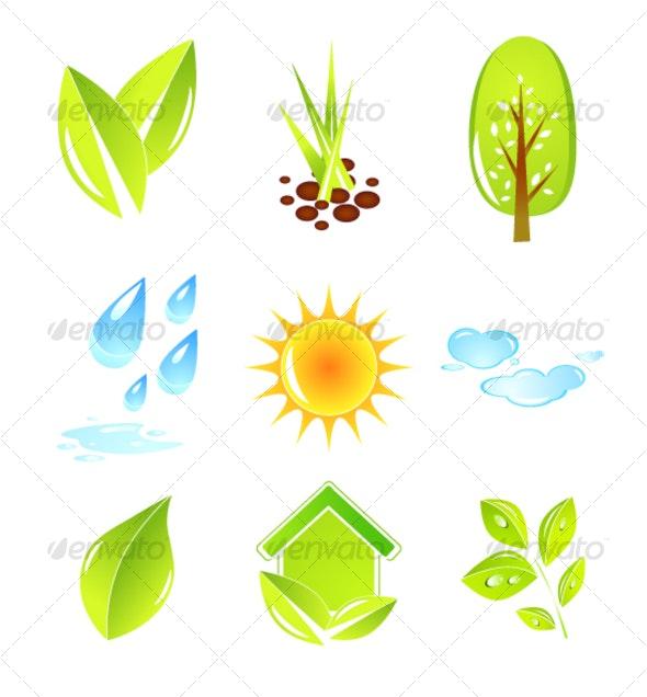 Nature design elements - Nature Conceptual
