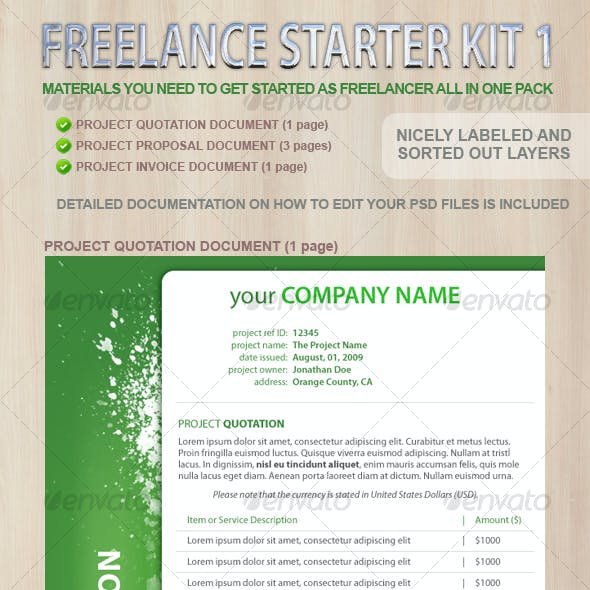 Freelance Starter Documents Kit